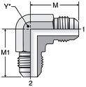 Parker ETX - JIC Union Elbows
