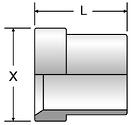 Parker TX - JIC Tube Sleeves