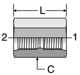 Parker Straight Thread Coupling