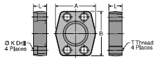 Parker PQ (Stainless Steel) Block Plug
