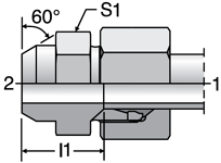 Parker AS - EO Weld Connectors