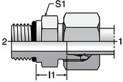 Parker GEO - EO Male Connectors