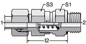 Parker RHV-M-ED - EO-2 Non-Return Valves