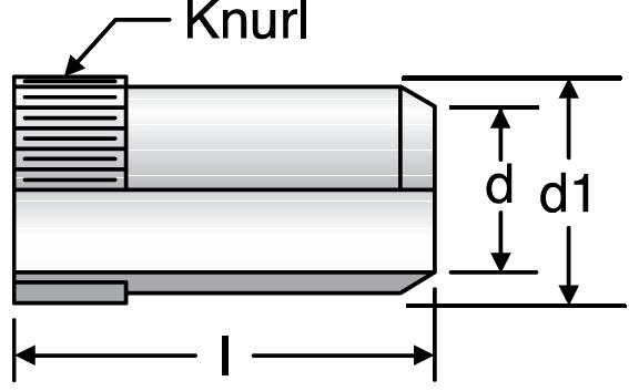 Parker VH - EO Tube Inserts