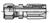 20-Series Male Ferulok Flareless - Rigid 24˚ Cone with Nut and Ferrule