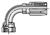 20-Series Female JIC 37˚ - Swivel - 90˚ Elbow - Short Drop