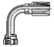 20-Series Female JIC 37˚ - Swivel - 90˚ Elbow - Long Drop