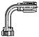 20-Series Female Seal-Lok® - Swivel - 90˚ Elbow - Long Drop