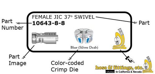 Weatherproof Color HFE Bin Labels