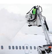 Airplane deicer