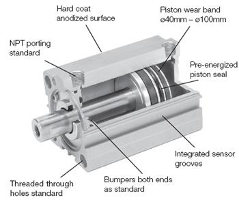 Parker P1Q cylinder