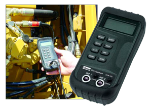 Parker Serviceman digital meter