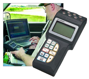 Parker ServiceMaster digital meter