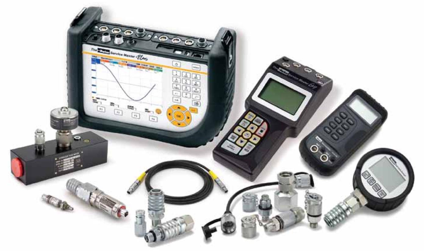 Parker Diagnostic Meter Selection