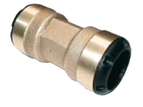 Transair connectors for industrial water piping