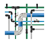 Aluminum Piping for Compressed Air - Parker TransAir