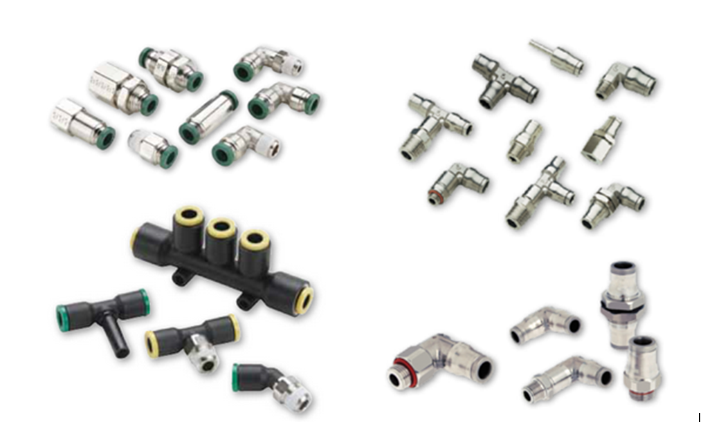 Parker Pneumatic Push-to-Connect Fittings