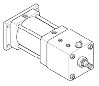 nfpa 4maj series tie rod pneumatic cylinders 6 in bore parker NFPA Chart Explanation 4maj large h mounting style