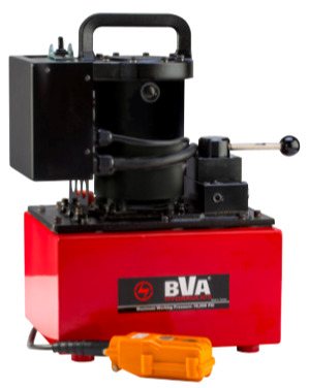 BVA PU55M4N025B Electric Pump with Manual Valve