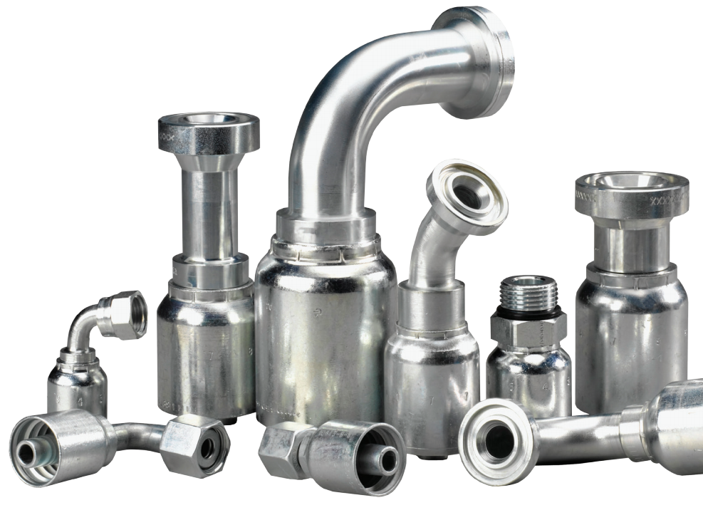 Parker 77 Series Crimp Fittings Now Available in Stainless Steel